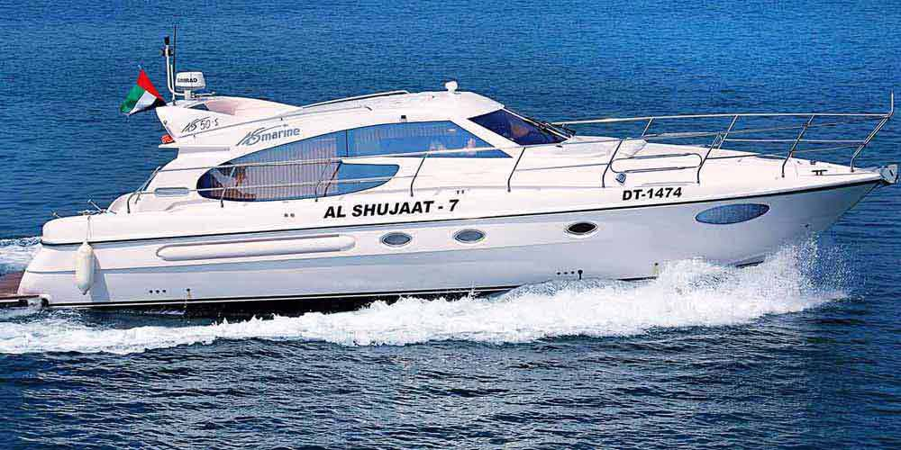 50 Feet Yacht Up To 17 Guests Al Wasl Yachts