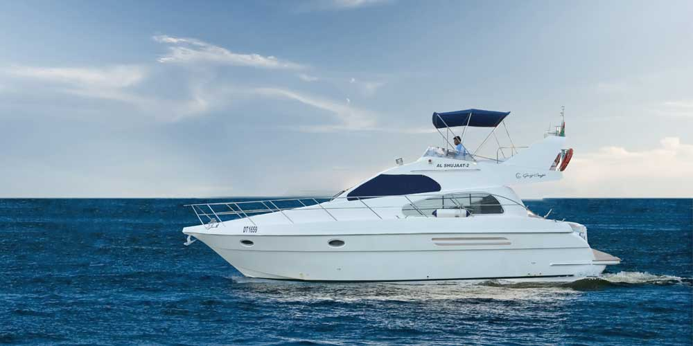 42 Feet Yacht Up To 14 Guests Al Wasl Yachts
