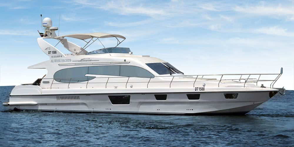 70 Feet Yacht | Up to 28 Guests | Al Wasl Yachts