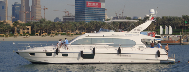 Hire a Yacht Charter and Explore The Night Life Of Dubai