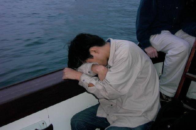 How to prevent or treat seasickness