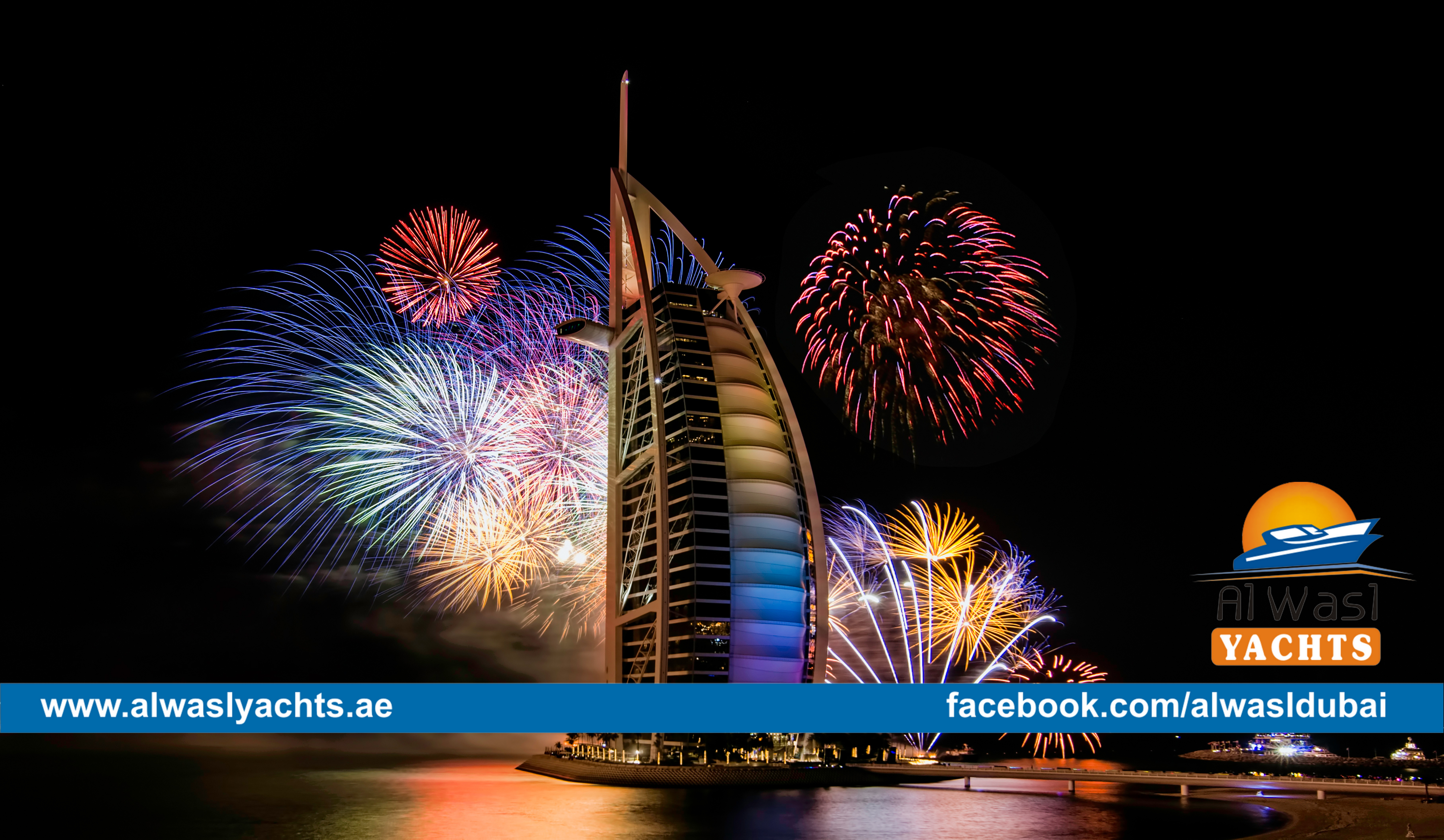 Welcome the Happiest New Year in Dubai